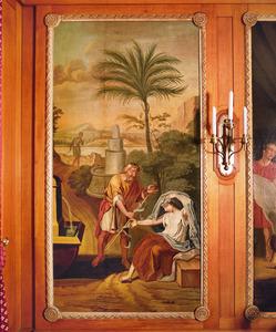 Juda geeft Tamar zijn zegelring (Genesis 28:14-18)