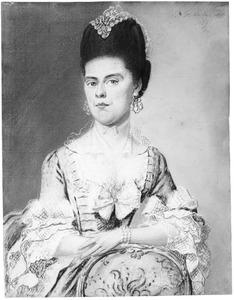 Portret van Johanna Meijer (1742-1784), echtgenote van Hendrik Rietveld (1728-1809)