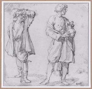 Twee staande mannen