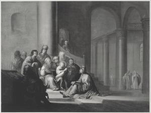 De twaalfjarige Christus onder de schriftgeleerden