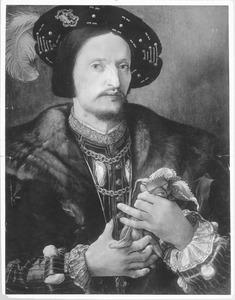 Portret van een 35-jarige man (voorzijde: De zelfmoord van Lucretia)