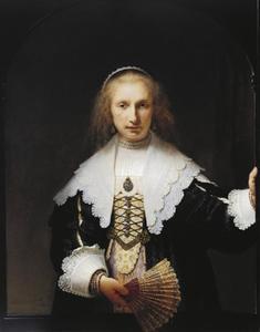 Portret van Agatha Bas (1611-1658)