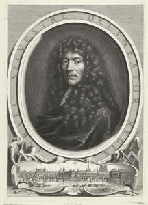 Portret van Israël Silvestre (1621-1691)