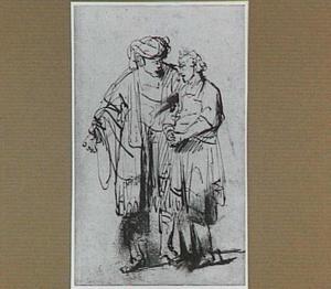 David neemt afscheid van Jonathan (1 Samuël 20:41-42)