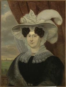 Portret van Johanna Cornelia van Starckenborgh (1773-1839)