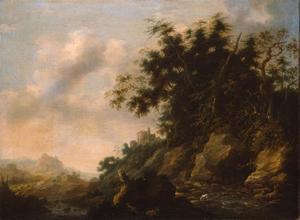 Heuvelachtige landschap