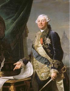 Portret van Louis-Charles-Auguste le Tonnelier de Breteuil (1730-1807)