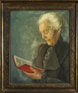 Portret van Maria Geertruida Alijda Terwindt (1860-1932)
