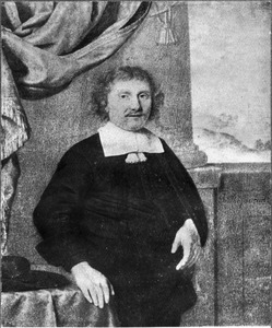 Portret van een man, genaamd J. Soutman (mogelijk Jan Soutman, overleden in 1678)