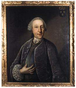 Portret van Heribert van Westervelt (1711-1792)