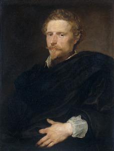 Portret van een man, waarschijnlijk Johannes Baptista Franck (c.1599-1653)