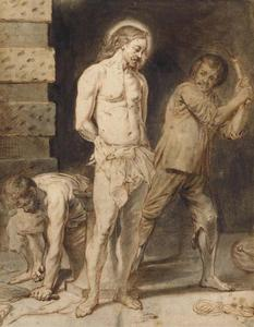 De geseling van Christus (Mattheüs 27:26)