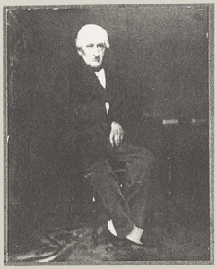 Portret van Theodorus Henricus Abels