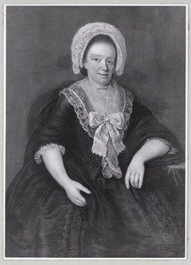 Portret van Anna Helena de Famars (1741-1820)