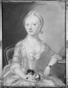 Portret van Wijnanda Petronella van Hoolwerff ( -1796)