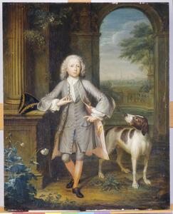 Portret van Adriaan van der Goes (1719-1759)
