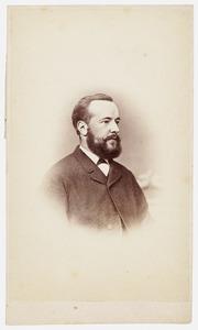 Portret van Ulrich Herman Huber (1842-1917)