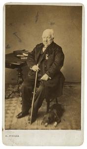 Portret van Nicolaus Fockema (1784-1863)
