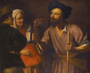 Diogenes zoekt naar een eerlijk man