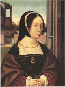Portret van een vrouw, mogelijk Anne van Bretagne