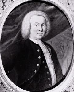 Portret van Edzart Jacob Lewe van Middelstum ( -1753)