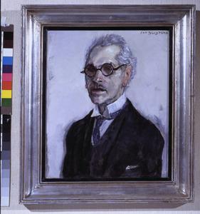 Portret van de criticus N.H. Wolf (1872-1942)