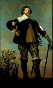 Portret van Flemming Ulfeldt ( 1607-1657)