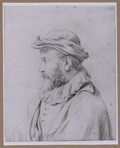 Man met hoed, borststuk