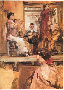 Café chantant met dansgroep La Feria