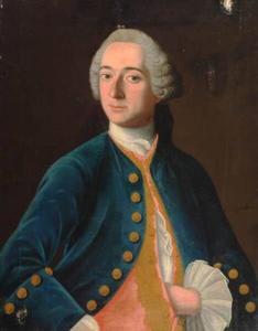 Portret van Jan van der Burch (1722-1764)