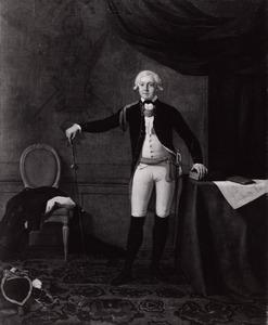 Portret van mogelijk Paulus van Pruysen Morisse ( -1807)