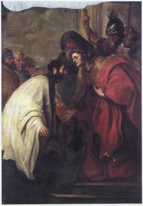De H. Franciscus Xaverius voor een koning