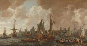 Aankomst van Koning Karel II van Engeland te Rotterdam, 24 mei 1660