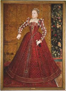 Portret van koningin Elizabeth I (1533-1603)