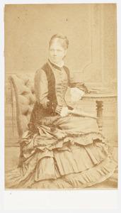 Portret van Cornelia J. Heyting (1837-1887)