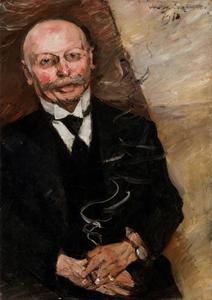 Portret van Heinrich Thannhauser (1859-1935)