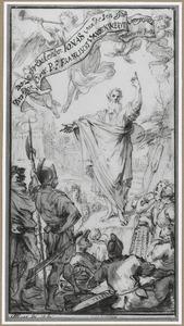 De preek van de profeet Jonas in Ninive