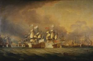De zeeslag van de Saints, 12 April 1782