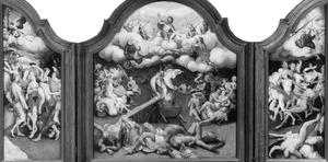 Drieluik met de Triomf van de Dood en het Laatste Oordeel