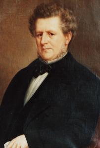 Portret van mogelijk Evert Suermondt (1815-1875)
