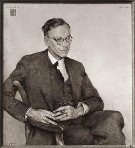 Portret van Johannes Jacobus Hacke (1891-1964)