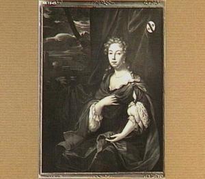 Portret van  Anna Jacoba van der Boekman (1666-1725), echtgenote van Ameus van der Schuer