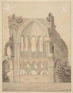 De kloosterruïne Heisterbach
