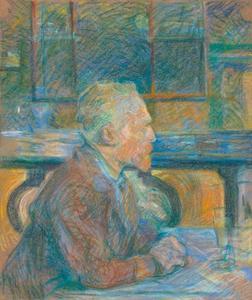 Portret van Vincent van Gogh (1853-1890)