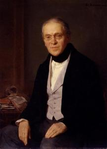 Portret van Gustav Friedrich Waagen (1797-1868)