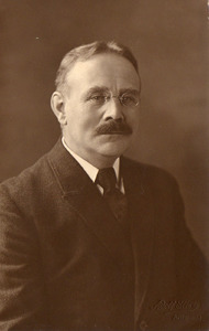 Portret van Frederik Jacob Besseling (1874-1938)