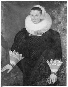 Portret van Anna Augustina Borremans (1597-1640)