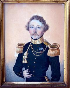 Portret van Frederik Jan Muller Massis (1797-1867)