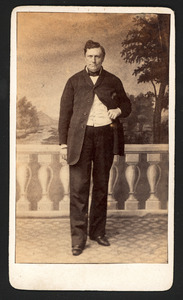 Portret van Willem Engelbart Engelen (1817-1879)