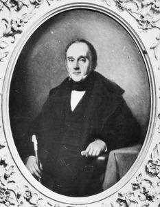 Portret van Willem Borski (1799-1881)